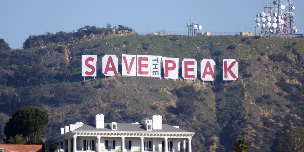 Hollywood Sign February 2010