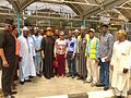 Hon. Abdulrahman Shuaibu Abubakar and other legislators on oversight duty.jpg