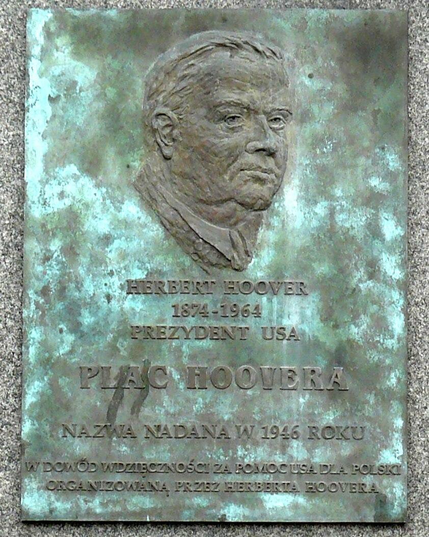 Hoover Plaque Poznan
