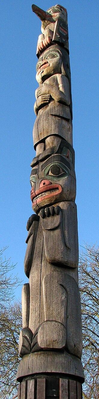 Horniman Museum - The totem pole
