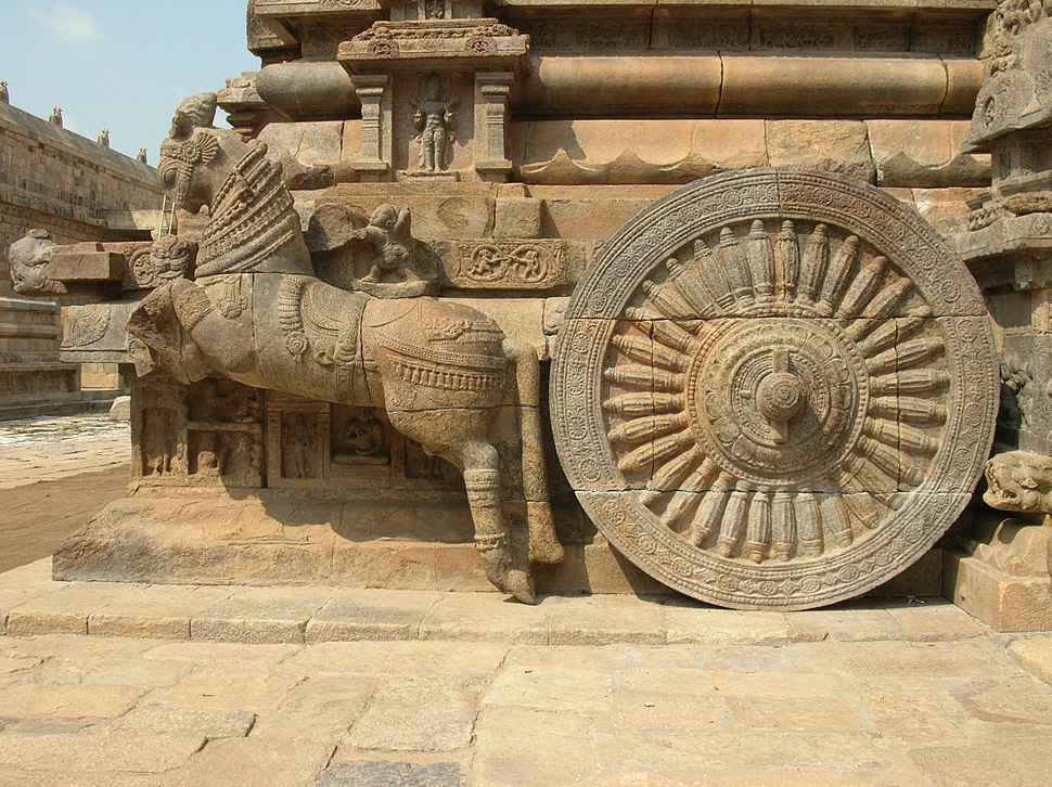 Horse drawn chariot Darasuram