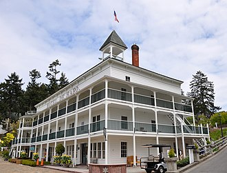 Roche Harbor, Washington - Hotel de Haro