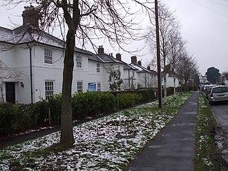 Rhiwbina - Garden village housing
