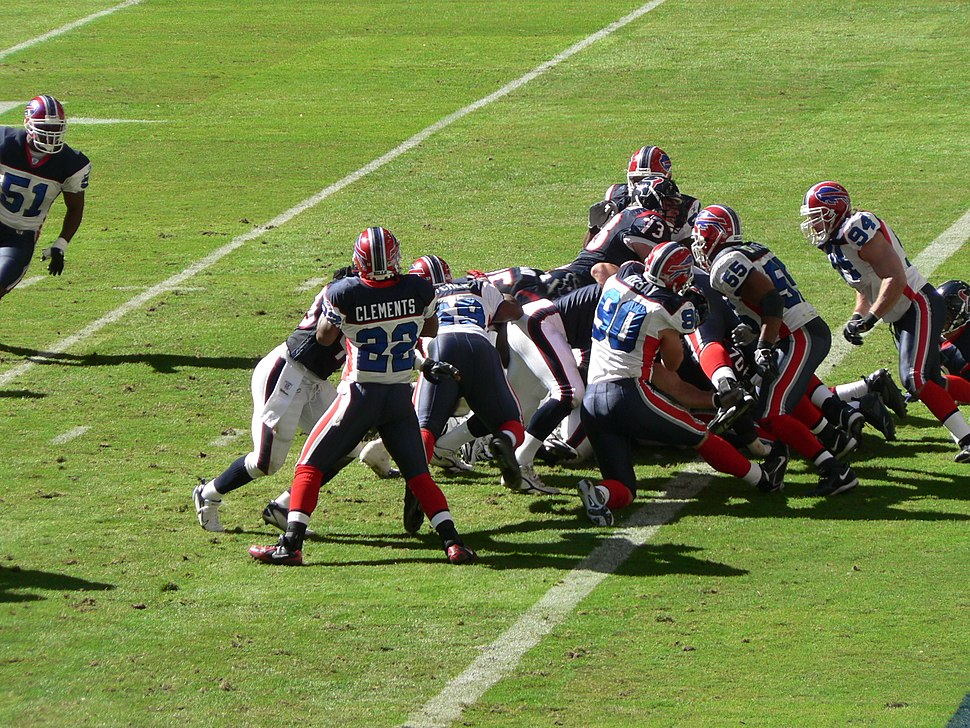 Houston Texans goal line stand vs Buffalo Bills 2006-11-19