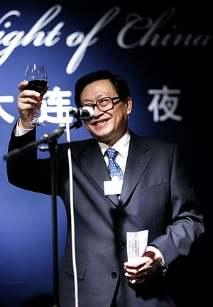 State councillor (China) - Image: Hua Jianmin World Economic Forum Annual Meeting Davos 2007