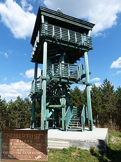 Hubertus observation tower.JPG