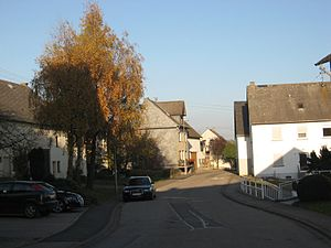 Hungenroth - Main street in Hungenroth
