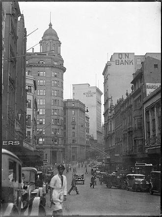 Hunter Street, Sydney - Image: Hunter Street, Sydney from The Powerhouse Museum