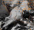 Hurricane Lidia (1993) IR Landfall.JPG