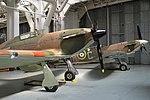 Hurricane XII 'P3700 RF-E' (G-HURI) & Spitfire V 'BM597 JH-C' (G-MKVB) (28241538670).jpg