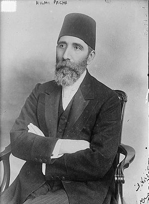 Greek Muslims - Hüseyin Hilmi Pasha (1855–1922/1923) was born into a Muslim family of Greek descent on Lesbos.