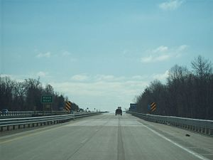 Interstate 196 - Image: I 196 Black River Bridge South Haven