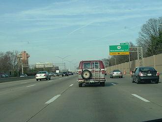 Transportation in Louisville, Kentucky - The Watterson Expressway