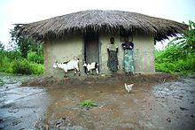 Flooding in Malawi.