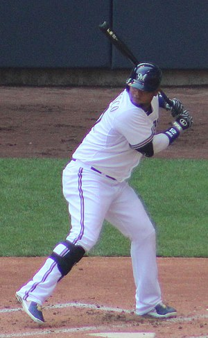 Juan Francisco - Francisco with the Milwaukee Brewers