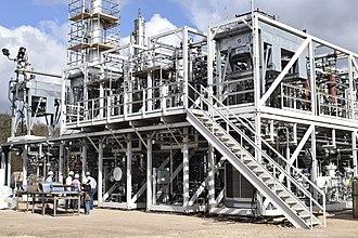 Gas to liquids - INFRA M100 GTL Plant