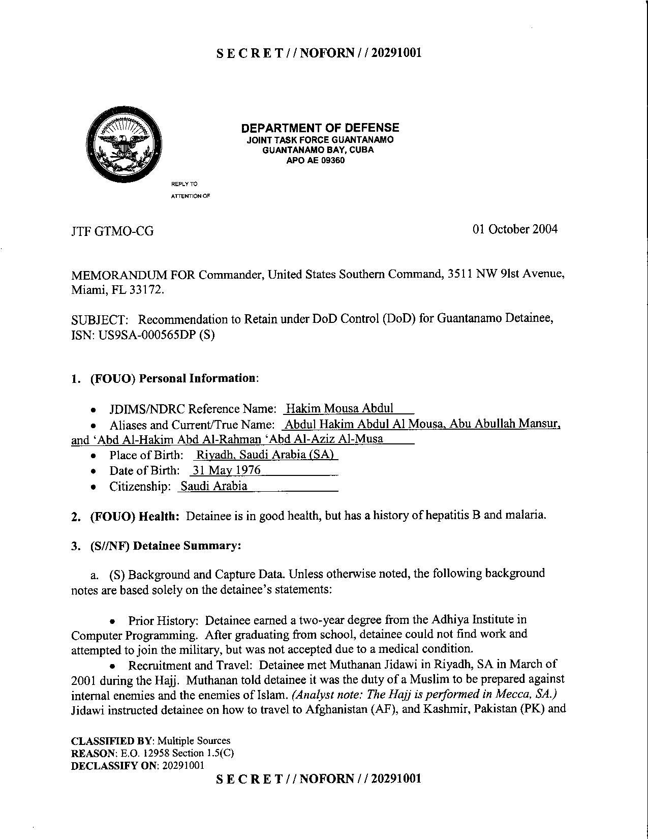 ISN 565's Guantanamo detainee assessment.pdf