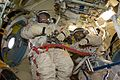 ISS-22 Oleg Kotov and Maxim Suraev in the Poisk module.jpg