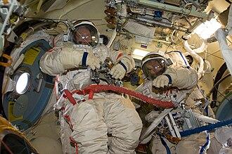 Poisk (ISS module) - Interior of Poisk