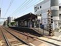 Ichijoji station Demachiyanagi bound platform 20200502.jpg
