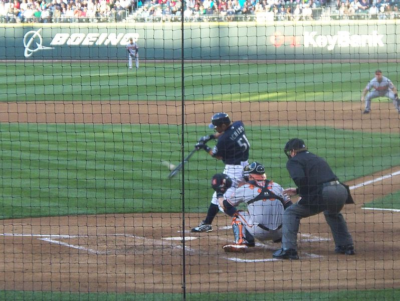 File:Ichiro Suzuki bottom of the 3rd inning July 6 2009.JPG