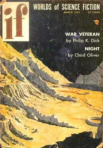 """War Veteran - """"War Veteran"""" was published in the March 1955 issue of If"""
