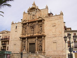 Llíria - L'Assumpció / La Asunción Baroque church (17th century).