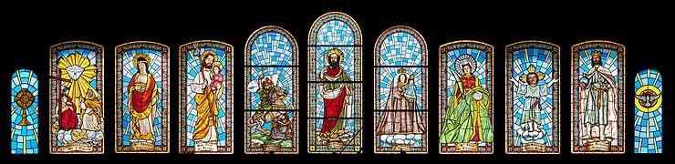 Iglesia de San Bartolomé de Tirajana - Gran Canaria - Windows.jpg