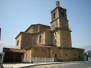 Ajangiz - Church at Ajangiz