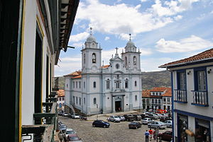 The historic center of Diamantina