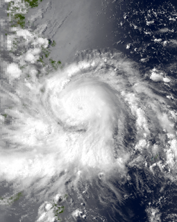 Typhoon Ike Pacific typhoon in 1984