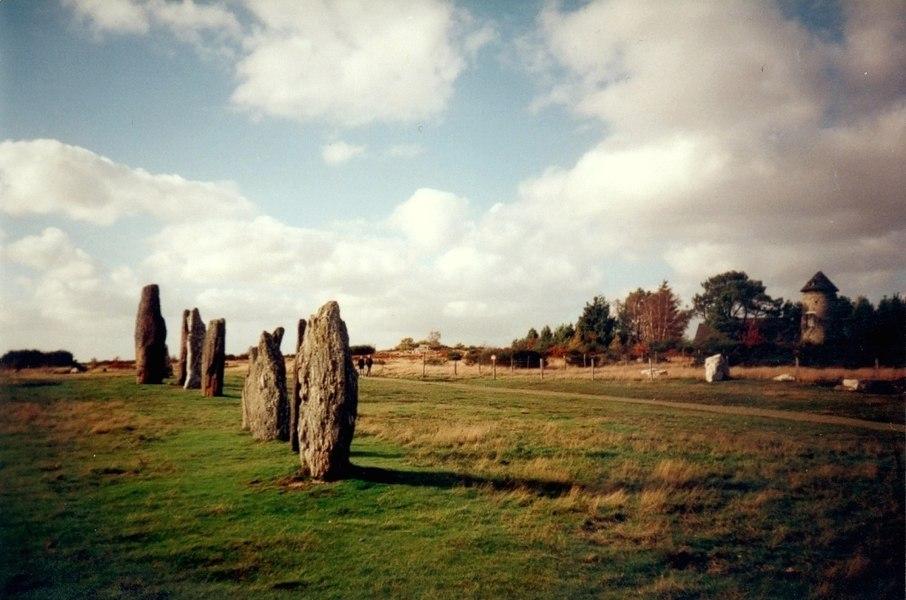 Ille-Et-Vilaine Saint-Just Landes De Cojoux Megalithes