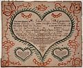 Illustrated family record (Fraktur) found in Revolutionary War Pension and Bounty-Land-Warrant Application File W2276... - NARA - 300154.jpg