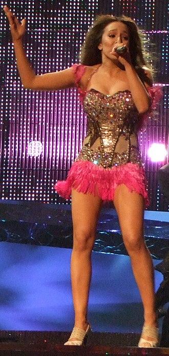 Kalomira - Kalomira performing at the Eurovision Song Contest 2008 in Belgrade