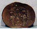 Impero romano d'oriente, romano IV con eudocia, costante e michele VII, emissione aurea, 1068-1071.JPG