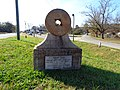 Indian Trail marker, US19 Thomaston.JPG