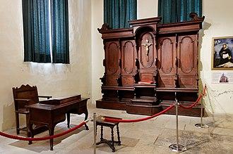 Inquisition - Tribunal at the Inquisitor's Palace in Birgu, Malta