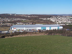 ...instore - Headquarters and distribution centre in Huddersfield
