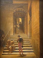 Intérieur de couvent à Rome