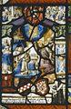 Interieur, glas-in-loodpaneel met gebrandschilderd glas, detail - Doorn - 20362522 - RCE.jpg