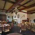 Interieur, linker kamer, overzicht, achter de haard (heerd) - Mallem - 20333588 - RCE.jpg