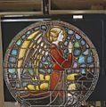 Interieur. Detail glas-in-loodraam van Toorop bij glasatelier Wiegen, Nijmegen - Nijmegen - 20337454 - RCE.jpg