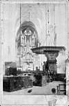 interieur ca. 1900, reproductie van oude foto - arnhem - 20024780 - rce