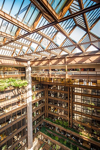 Ford Foundation - Atrium with garden