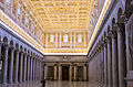 Interior of Basilica of Saint Paul Outside the Walls 06.jpg