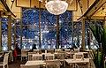 Interior of Esplanadikappeli restaurant in Helsinki, Finland, 2021 January.jpg