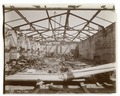 Interior work - structural framework of the roof at the northeast corner of the building, looking north (NYPL b11524053-489630).tiff