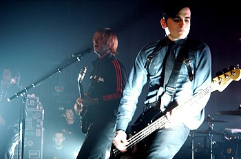 Interpol performing live