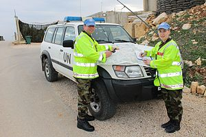 Military Police Corps (Ireland) - Irish Military Police Section, 47th Infantry Group of UNIFIL in Lebanon
