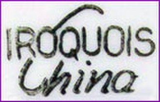 Iroquois China Company - Image: Iroquois china logo